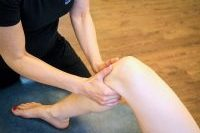 Knie Massage